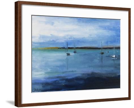 White Fish Bay-Curt Crain-Framed Art Print