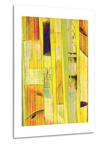 Yellow Mix I-Ricki Mountain-Metal Print