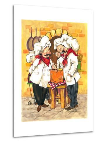 Soup Chefs-Jerianne Van Dijk-Metal Print