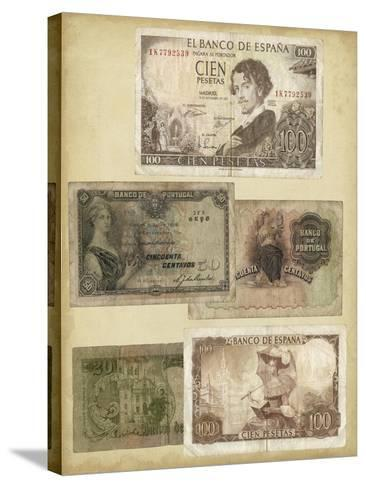 Antique Currency I-Vision Studio-Stretched Canvas Print