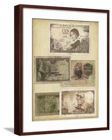 Antique Currency I-Vision Studio-Framed Art Print