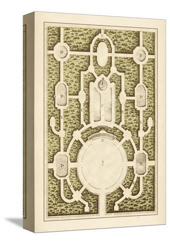 Garden Maze I-Blondel-Stretched Canvas Print