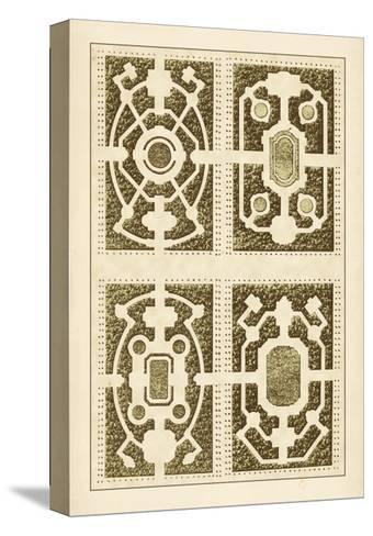 Garden Maze II-Blondel-Stretched Canvas Print