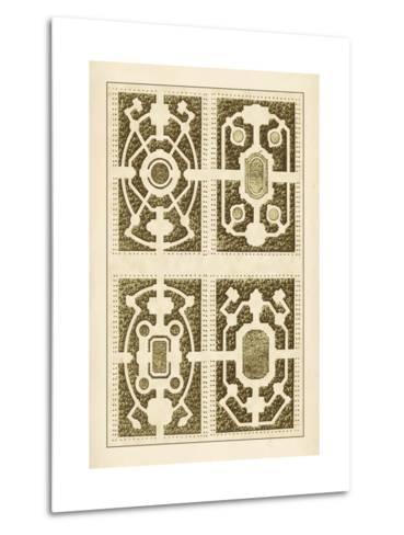 Garden Maze II-Blondel-Metal Print
