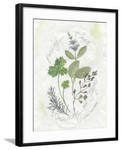 Parsley and Sage-Elissa Della-piana-Framed Art Print