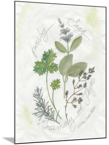 Parsley and Sage-Elissa Della-piana-Mounted Art Print