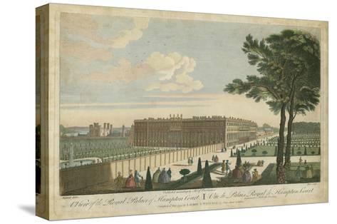 Hampton Court--Stretched Canvas Print