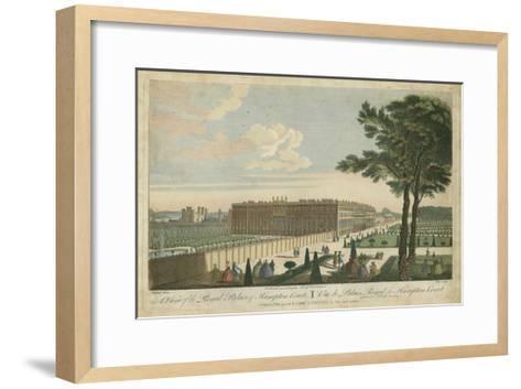 Hampton Court--Framed Art Print