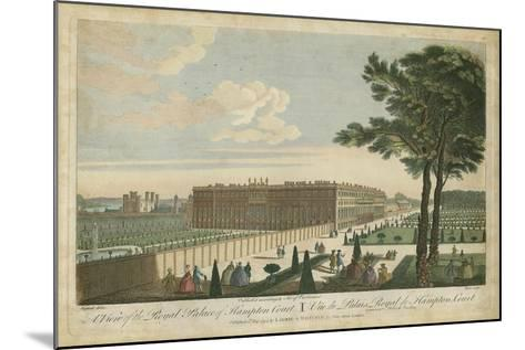 Hampton Court--Mounted Art Print