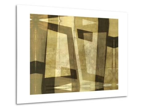 Monotype Inversion-Jennifer Goldberger-Metal Print