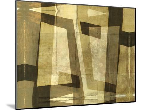 Monotype Inversion-Jennifer Goldberger-Mounted Art Print