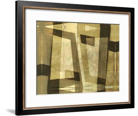 Monotype Inversion-Jennifer Goldberger-Framed Art Print