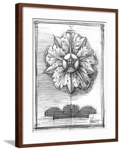 Non-Embld. Decorative Ornament II-Ethan Harper-Framed Art Print