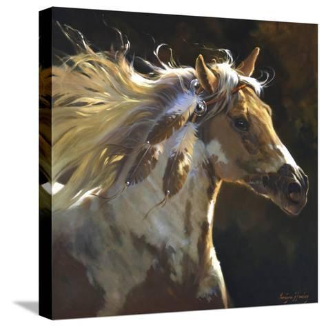 Spirit Horse-Carolyne Hawley-Stretched Canvas Print