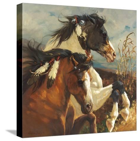 Wind Voyager-Carolyne Hawley-Stretched Canvas Print