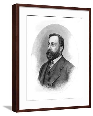 Painter Albert Bierstadt--Framed Art Print