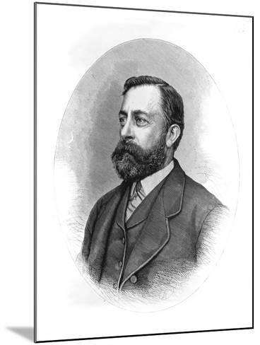 Painter Albert Bierstadt--Mounted Giclee Print