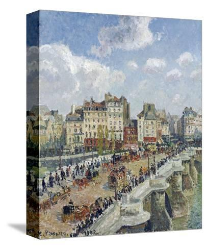 The Pont-Neuf, Paris-Camille Pissarro-Stretched Canvas Print