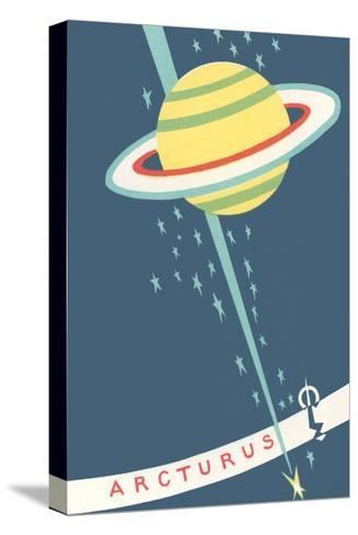 Arcturus and Saturn--Stretched Canvas Print