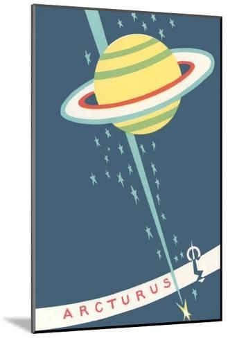 Arcturus and Saturn--Mounted Giclee Print