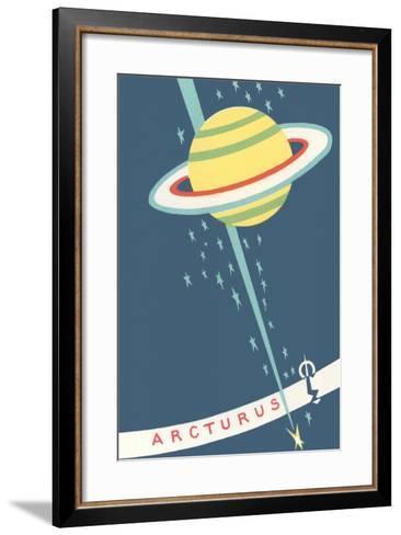 Arcturus and Saturn--Framed Art Print