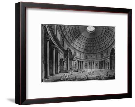Interior View of the Pantheon-Francesco Piranesi-Framed Art Print