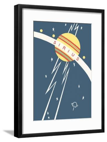Sirius and Planet--Framed Art Print