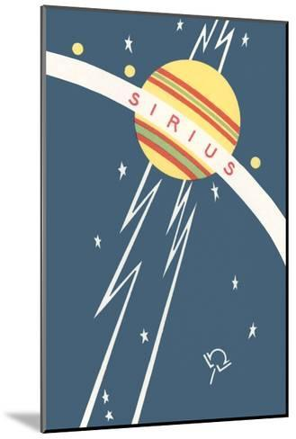 Sirius and Planet--Mounted Giclee Print