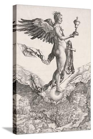 Nemesis-Albrecht D?rer-Stretched Canvas Print