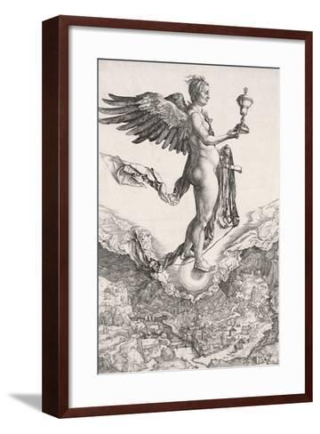 Nemesis-Albrecht D?rer-Framed Art Print