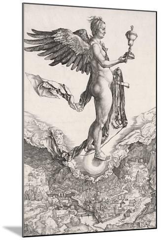 Nemesis-Albrecht D?rer-Mounted Giclee Print