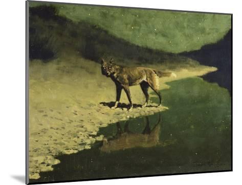 Moonlight, Wolf-Frederic Sackrider Remington-Mounted Giclee Print