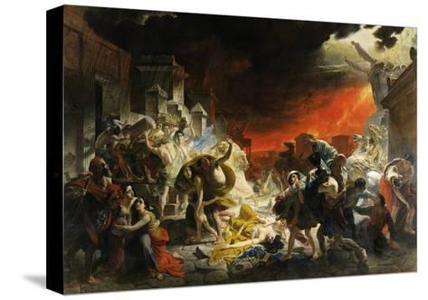 The Last Day of Pompeii-Karl Briullov-Stretched Canvas Print
