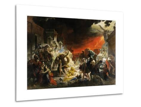 The Last Day of Pompeii-Karl Briullov-Metal Print
