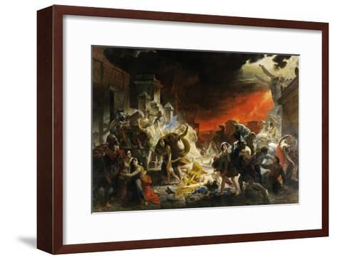 The Last Day of Pompeii-Karl Briullov-Framed Art Print