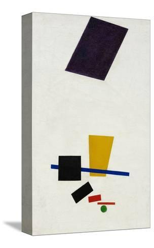 Painterly Realism of a Football Player ? Color Masses in the 4th Dimension-Kasimir Malevich-Stretched Canvas Print