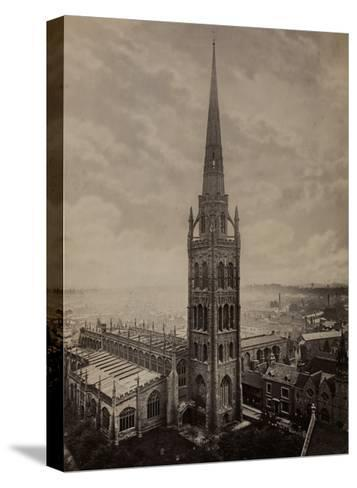 Coventry Cathedral--Stretched Canvas Print