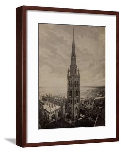 Coventry Cathedral--Framed Art Print