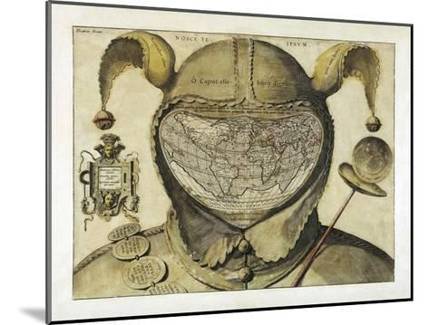 Fool's Cap World Map--Mounted Giclee Print