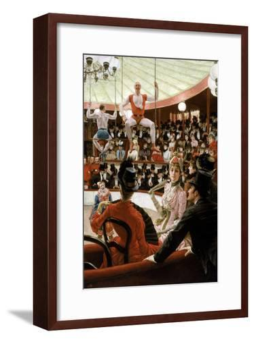 Women of Paris: the Circus Lover-James Tissot-Framed Art Print