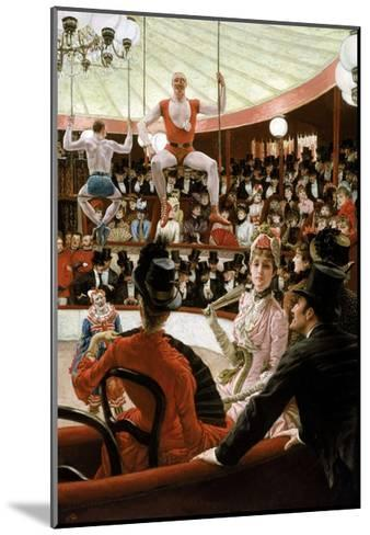 Women of Paris: the Circus Lover-James Tissot-Mounted Giclee Print