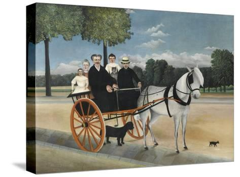 La Carriole Du P?re Junier (Father Junier's Sleigh)-Henri Rousseau-Stretched Canvas Print