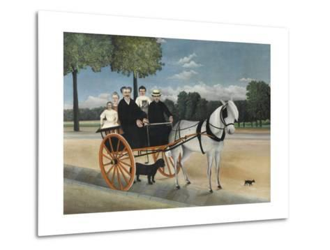 La Carriole Du P?re Junier (Father Junier's Sleigh)-Henri Rousseau-Metal Print