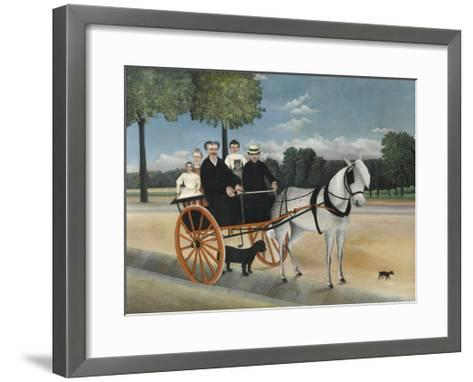 La Carriole Du P?re Junier (Father Junier's Sleigh)-Henri Rousseau-Framed Art Print