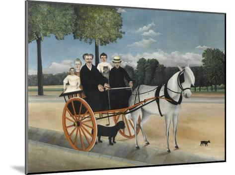 La Carriole Du P?re Junier (Father Junier's Sleigh)-Henri Rousseau-Mounted Giclee Print