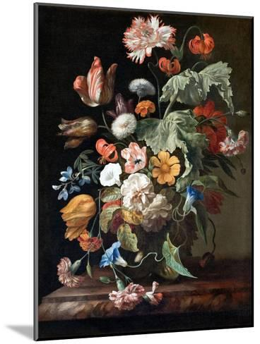 Still-Life with Flowers-Rachel Ruysch-Mounted Giclee Print