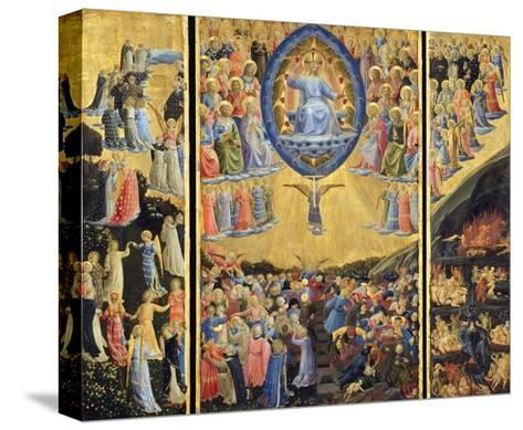 The Last Judgment-Fra Angelico-Stretched Canvas Print