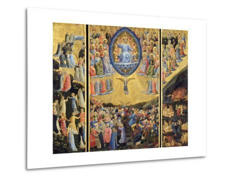 The Last Judgment-Fra Angelico-Metal Print