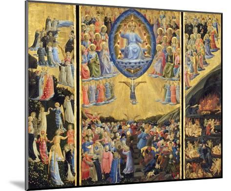 The Last Judgment-Fra Angelico-Mounted Giclee Print