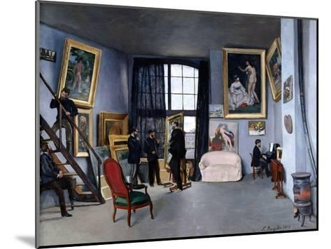 Bazille's Studio-Frederic Bazille-Mounted Giclee Print
